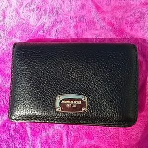 MICHAEL KORS BLACK WALLET NWOT